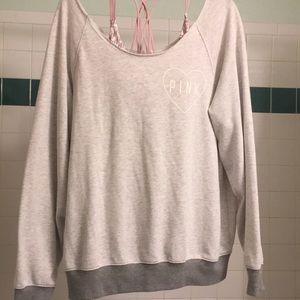 PINK Slouchy Sweatshirt